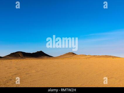 Deserto Bayoda, Stato settentrionale, Bayuda desert, Sudan Immagini Stock