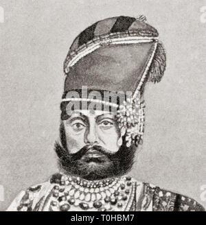 Vecchia foto vintage di Jaswant Singh II Immagini Stock