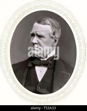 JOHN HAWKSHAW (1811-1891) inglese ingegnere civile Immagini Stock