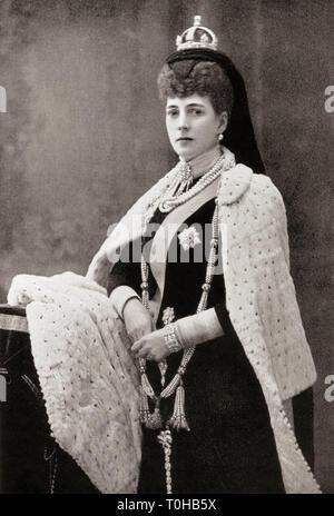 Alexandra della Danimarca ritratto, India, Asia Immagini Stock