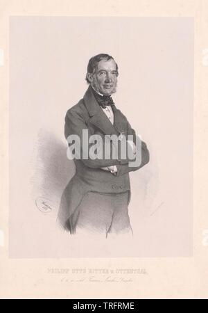 Ottenthal, Philipp Otto knight von, vissuto circa 1855 Additional-Rights-Clearance-Info-Not-Available Immagini Stock