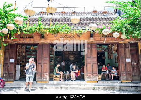 Antica città di Hoi An, Vietnam Immagini Stock