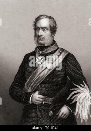 Il maggiore generale Sir Henry Havelock, India, Asia Immagini Stock
