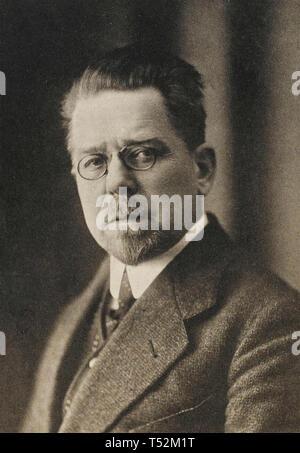 WŁADYSŁAW REYMONT (1867-1925) romanziere polacco Immagini Stock