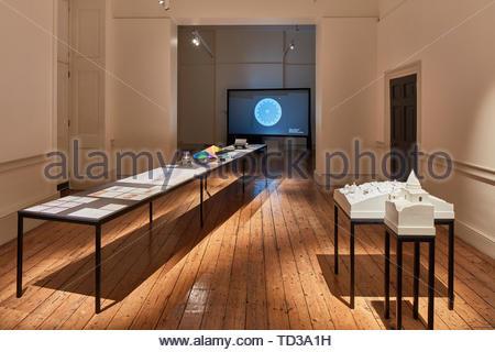 Installazione di Forensic ARCHITETTURA PER IL REGNO UNITO. London Design Biennale 2018, Londra, Regno Unito. Architetto: Vari , 2019. Immagini Stock