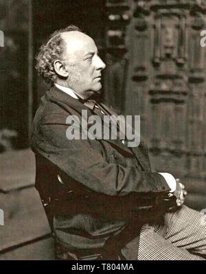 JOHN MILLAIS (1829-1896) pittore inglese e Illustrator Immagini Stock