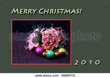 Illustrazione di Buon Natale 2010 Immagini Stock