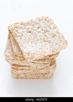 Ricecakes shot con professionisti di medio formato digital Immagini Stock