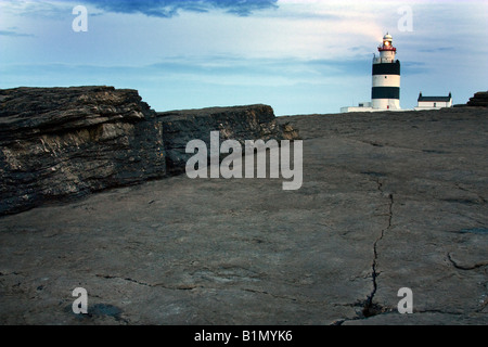 Hook Head Lighthouse, Co. Wexford. L'Irlanda. Immagini Stock