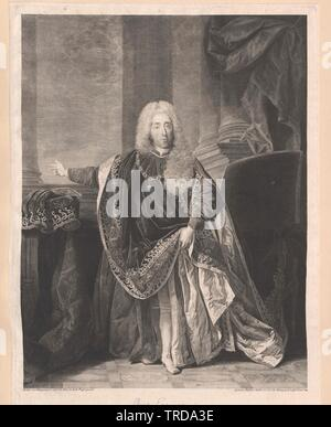 Eugenio, Principe di Savoia Carignan, Additional-Rights-Clearance-Info-Not-Available Immagini Stock