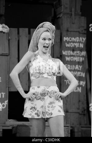 Lauren Kennedy di Richard Rodgers & Oscar Hammerstein South Pacific al Teatro Nazionale, foto Graham Brandon. Immagini Stock