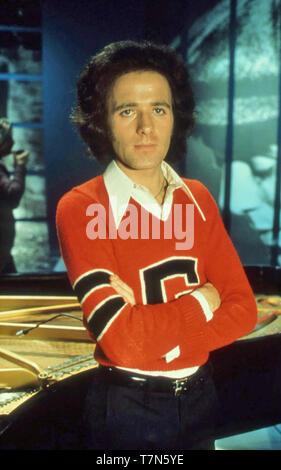 GILBERT O'SULLIVAN anglo-irlandese musicista pop nel 1975 Immagini Stock
