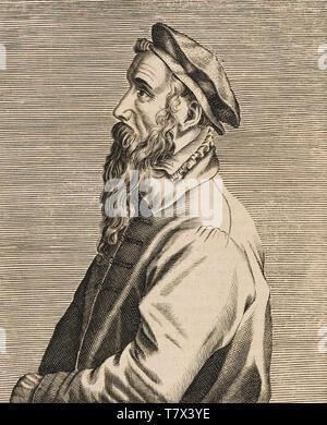 PIETER Bruegel il Vecchio (c) 1525-1569 artista olandese Immagini Stock