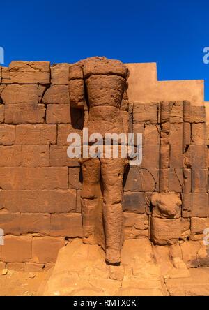 Il grande contenitore in Musawwarat es-sufra meroitic tempio complesso, la Nubia, Musawwarat es-Sufra, Sudan Immagini Stock