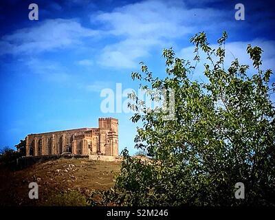 Un castello in Aracena, Huelva, Andalusia Immagini Stock