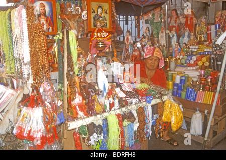 Manila giornaliero della colorata città mercato è un vivace luogo di incontro nelle Filippine,Asia Immagini Stock