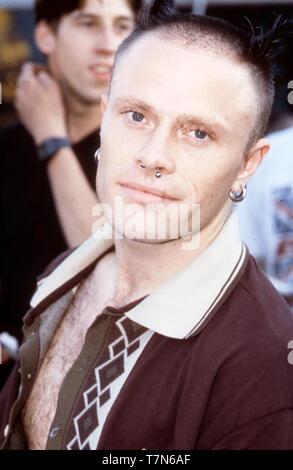 Il prodigio italiano del gruppo rock con Keith Flint in Leeds nel 1997 Immagini Stock