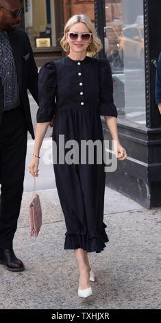 New York, NY, STATI UNITI D'AMERICA. Il 24 giugno 2019. Naomi Watts fuori e circa per celebrità Candids - MON, New York, NY Giugno 24, 2019. Credito: RCF/Everett raccolta/Alamy Live News Immagini Stock