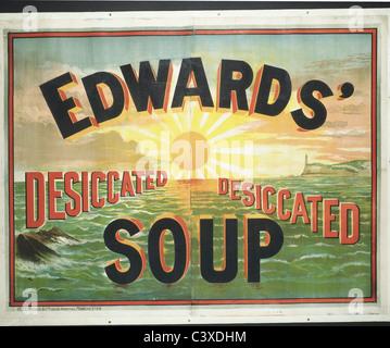 Edwards' essiccato zuppa, da Henry Blaclock e Co., Inghilterra, nei primi anni del XX secolo Immagini Stock
