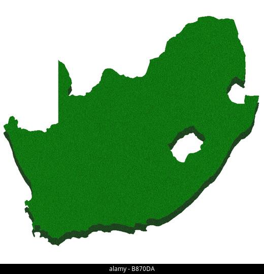 Cartina Muta Del Sudafrica.Mappa Di Contorno Del Sud Africa Foto Stock Alamy
